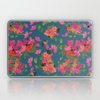 April blooms(Bougainvillea_blue) Laptop & iPad Skin