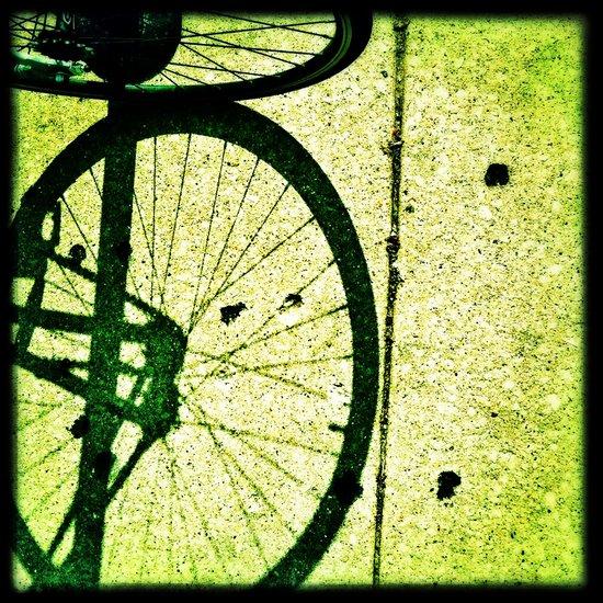 Wheelie. Art Print