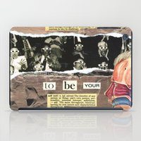 Dare To Be Yourself iPad Case