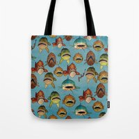 fishing with worms Tote Bag
