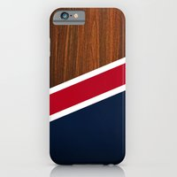 Wooden New England iPhone 6 Slim Case