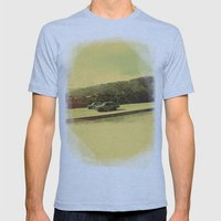 Cuban Cars Mens Fitted Tee Athletic Blue SMALL