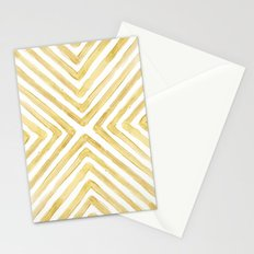 Gilded Bars Stationery Cards