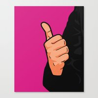 Pop Icon - Fonzie Canvas Print