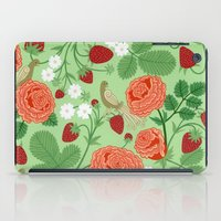 Roses And Strawberries O… iPad Case