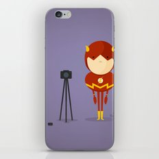 My camera hero! iPhone & iPod Skin