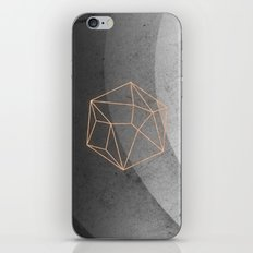 Geometric Solids on Marble iPhone & iPod Skin