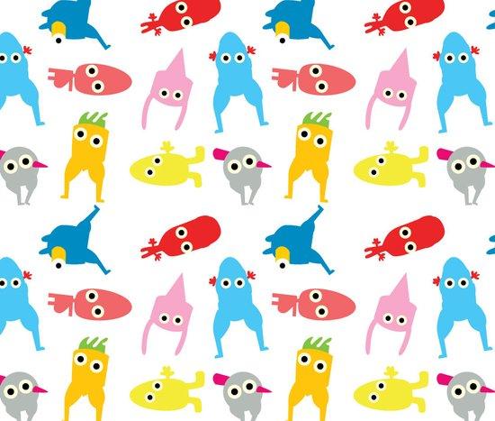 mur pattern1 Art Print