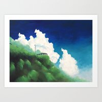 Mountain Road Art Print