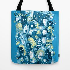 Under my bed Tote Bag