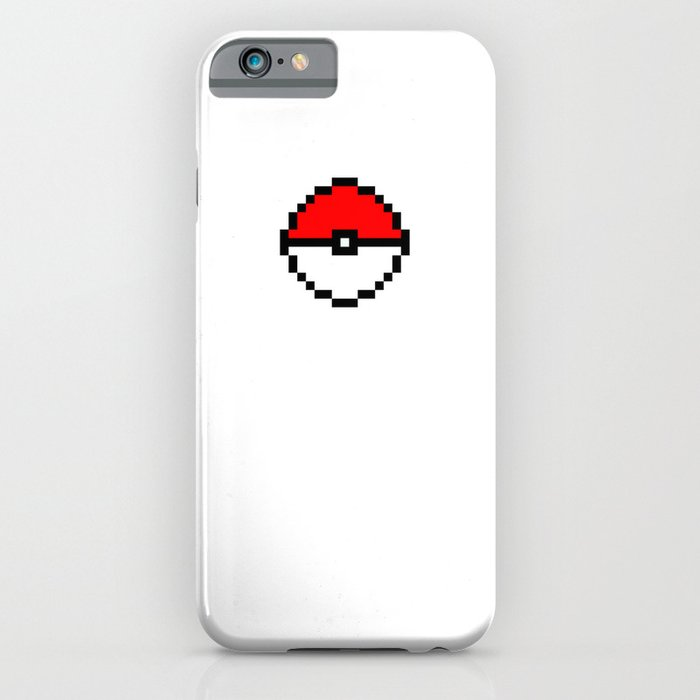 iphone 6 pixel pixel pokeball iphone amp ipod by y4ia society6 11379