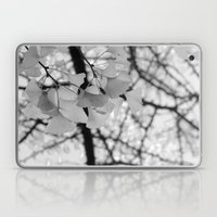 Black & White Ginkgo  Laptop & iPad Skin