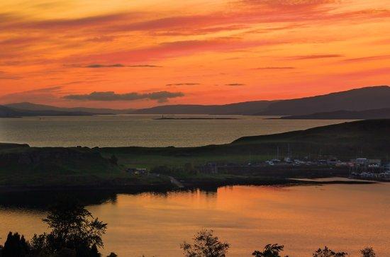 Sunset Over Kerrera Isle Art Print