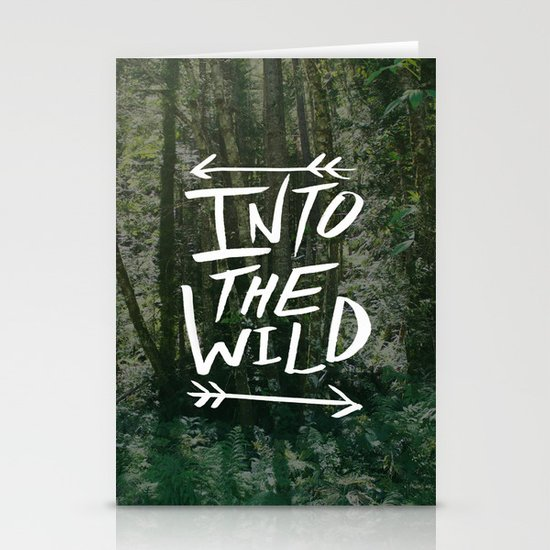 Into the Wild III Stationery Card