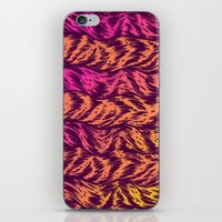Fur Stripes iPhone & iPod Skin