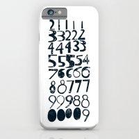 Numbers B/v iPhone 6 Slim Case