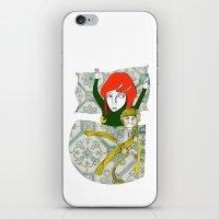 Tina&Ape iPhone & iPod Skin