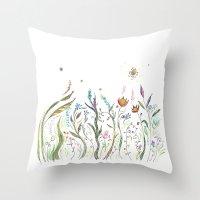 La Primavera Throw Pillow
