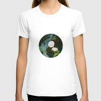 SEEING SOUNDS Womens Fitted Tee White SMALL