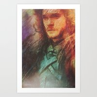 Someone-Who-Knows-Nothing  Art Print