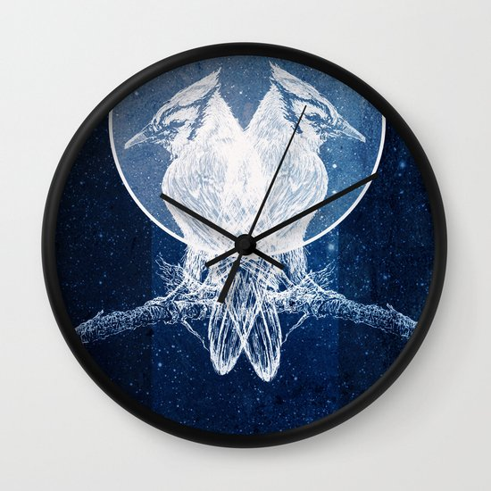 """Ghost Stories"" by Matthew Vidalis Wall Clock"