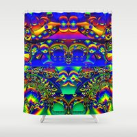 Blow Your Mind Shower Curtain