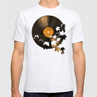 Autumn Song  Mens Fitted Tee Ash Grey SMALL