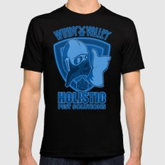 Windy Valley Holistic Pest Solutions Mens Fitted Tee Black SMALL