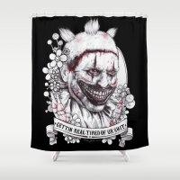 Xoxo Twisty Shower Curtain