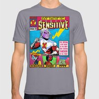 Mister Sensitive #1 Mens Fitted Tee Slate SMALL