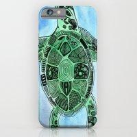 Tatoo Sea Turtle iPhone 6 Slim Case