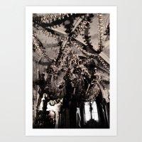 The Bone Church #1 Art Print