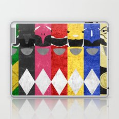 Mighty Morphin Power Rangers Laptop & iPad Skin