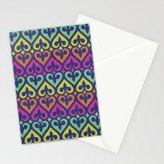 Fleur De lis & Hearts Stationery Cards