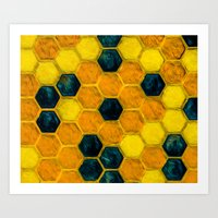 Call It Hex II Art Print