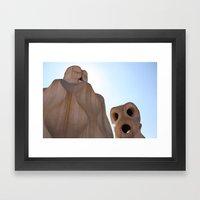 Goudy 3 Framed Art Print