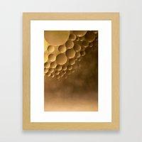 Many moons. Framed Art Print