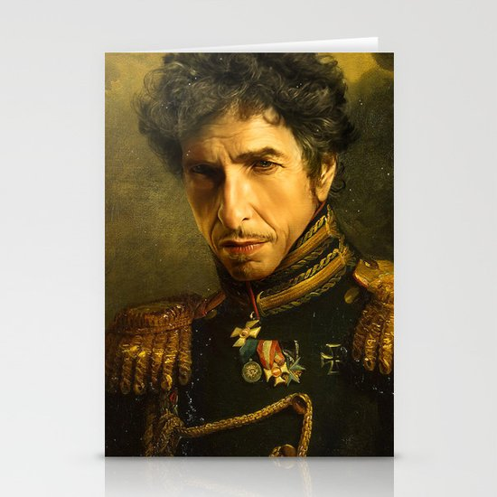 Bob Dylan - replaceface Stationery Card