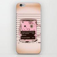 Mugshot iPhone & iPod Skin