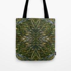 Coconut Leaf collage 2 Tote Bag