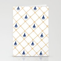 Stationery Card featuring Netting by Maria Tanygina
