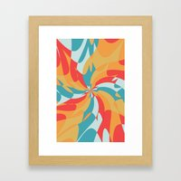 Splat (Available in the Society 6 Shop!) Framed Art Print