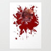 Chestburster Art Print