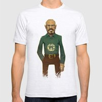 Walter White Mens Fitted Tee Ash Grey SMALL