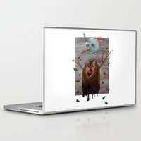 snow Laptop & iPad Skins featuring Snow by gunberk