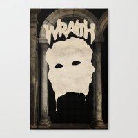 WRAITH - Death Mask Canvas Print