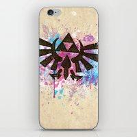 Splash Triforce Emblem iPhone & iPod Skin