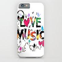 LOVE MUSIC iPhone 6 Slim Case