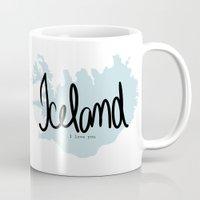 Iceland love Mug