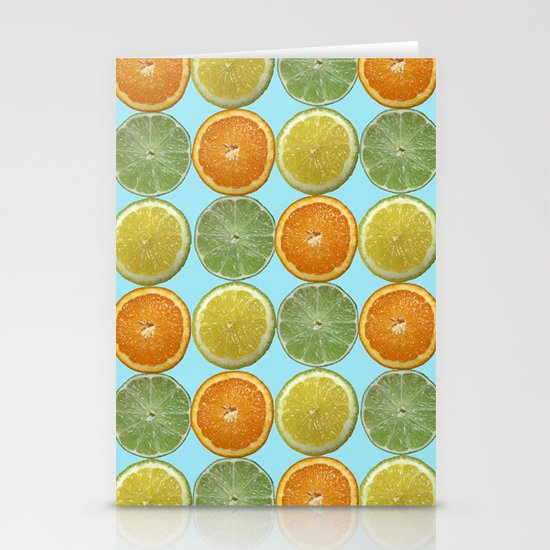 Lemons, Limes, Oranges, Oh my!  Citrus Photography Stationery Card
